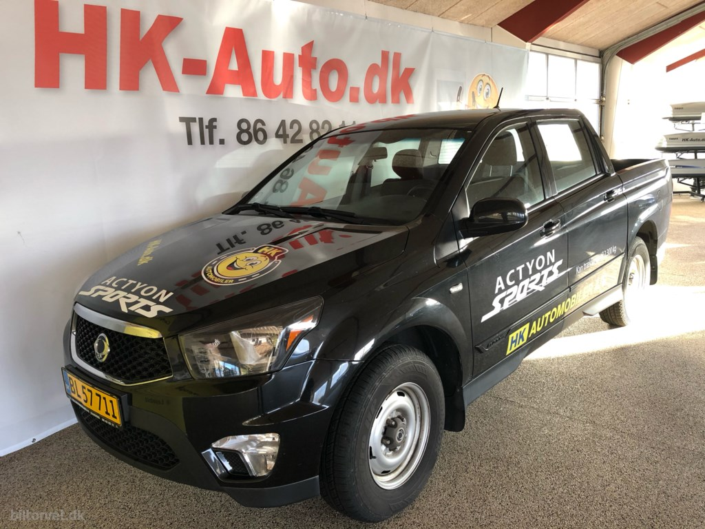 SsangYong Actyon Sports 2,0 D Free 4WD 155HK Pick-Up 6g 2017