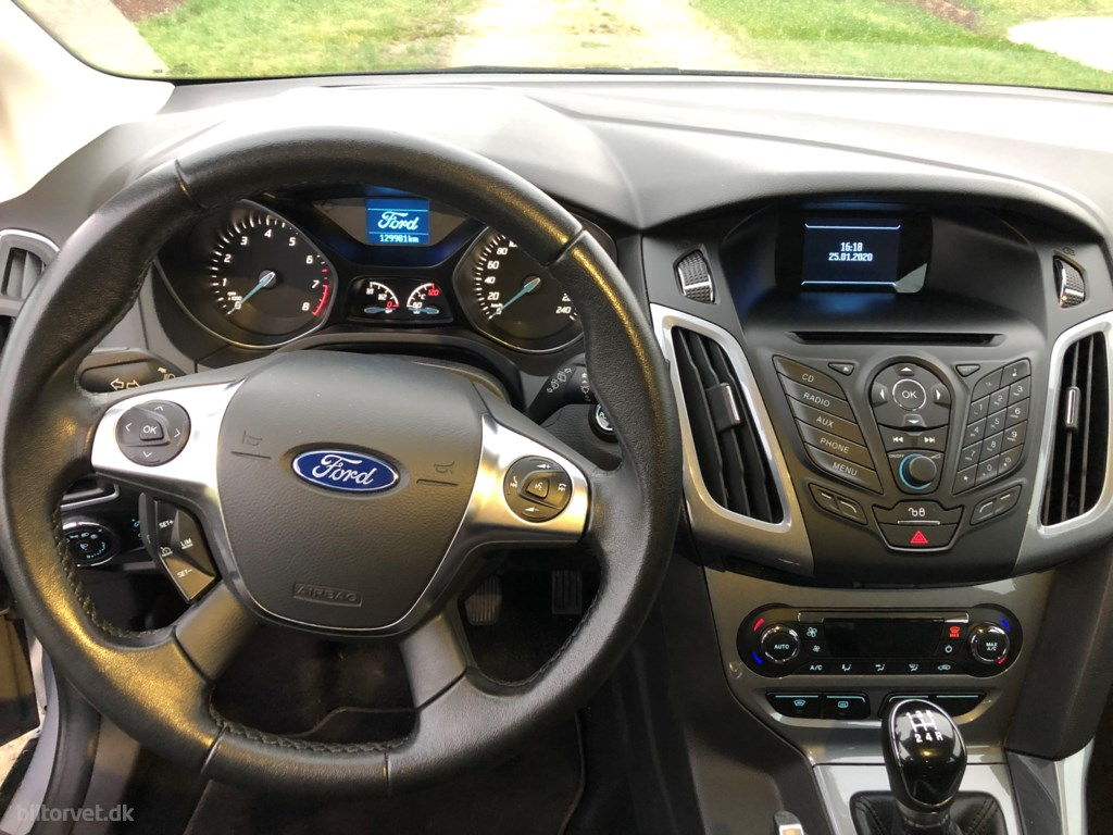 Ford Focus 1,0 EcoBoost Edition 100HK 5d 2013