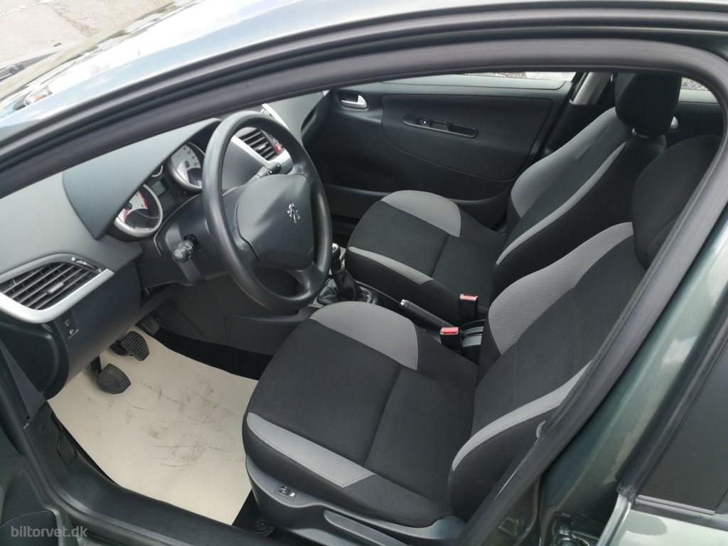Peugeot 207 1,6 HDi  90HK Stc 2009
