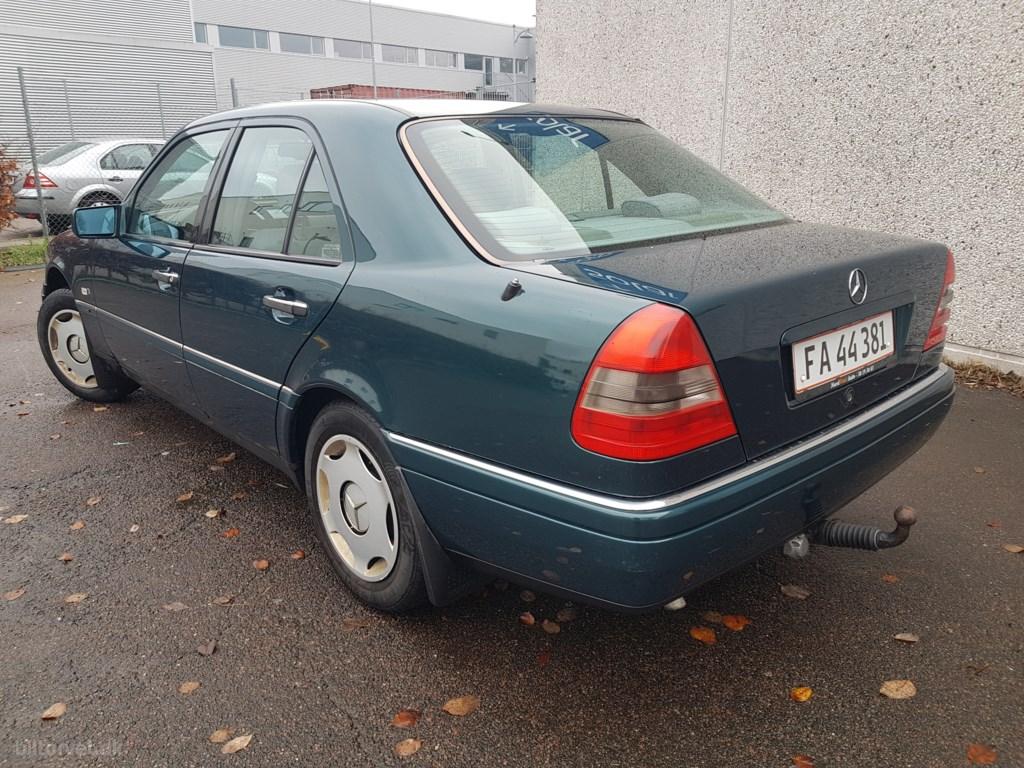 Mercedes-Benz C 180 aut. 122HK 1997