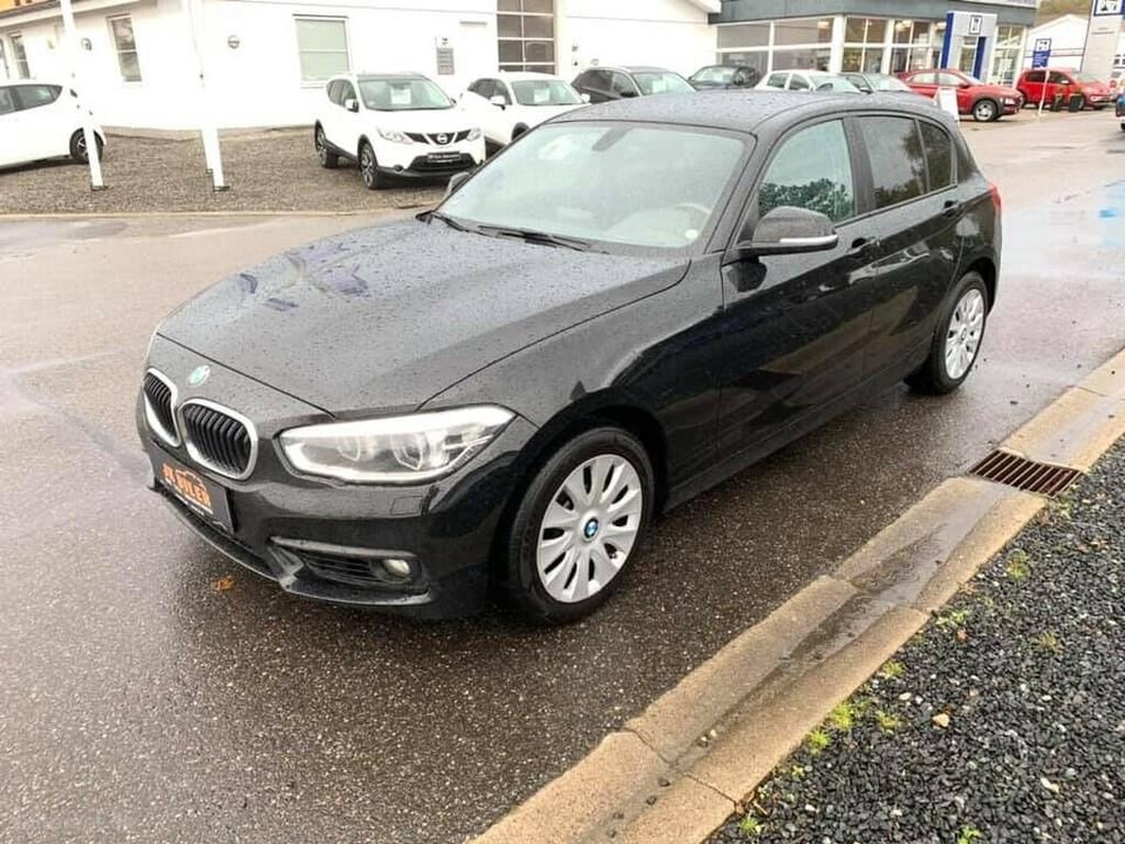 BMW 118d 2,0 aut. 2015