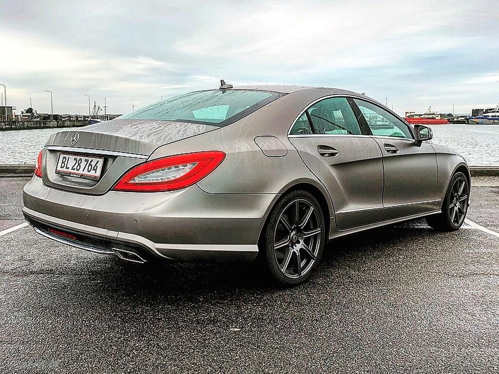 Mercedes-Benz CLS 350 3,5 CGI BlueEfficiency 306HK 4d 7g Aut. 2011