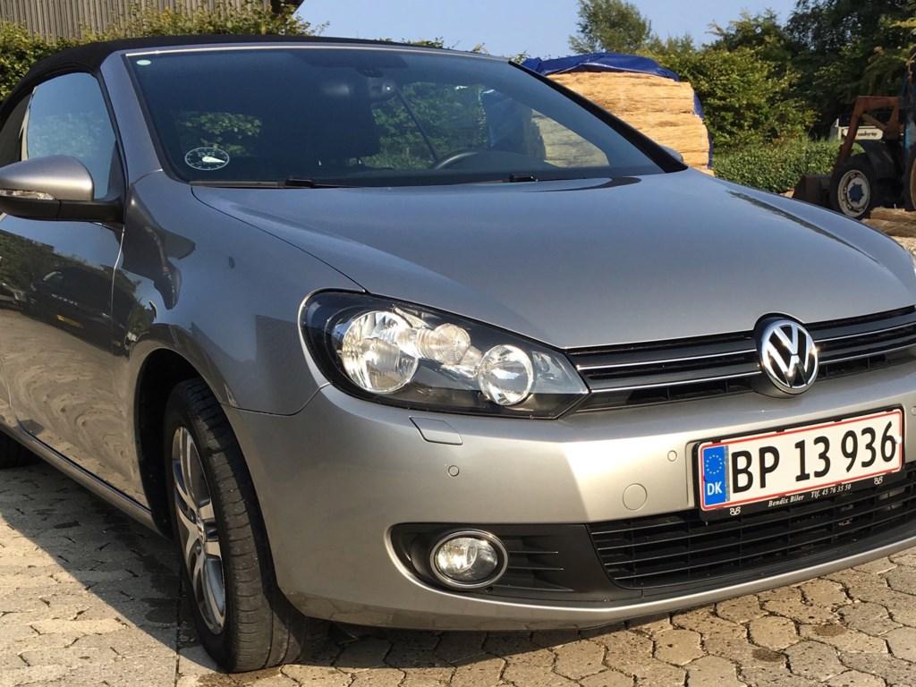 VW Golf 1,4 TSI Sport DSG 160HK Cabr. 7g Aut. 2012
