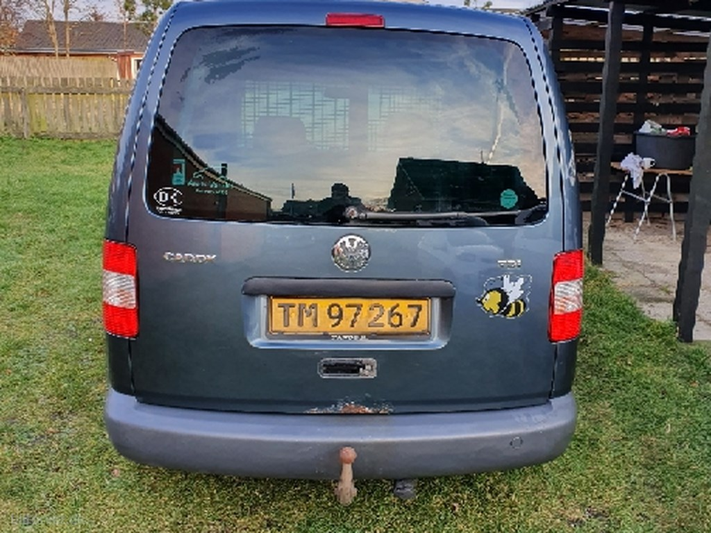 VW Caddy 1,9 TDI 104HK 2005