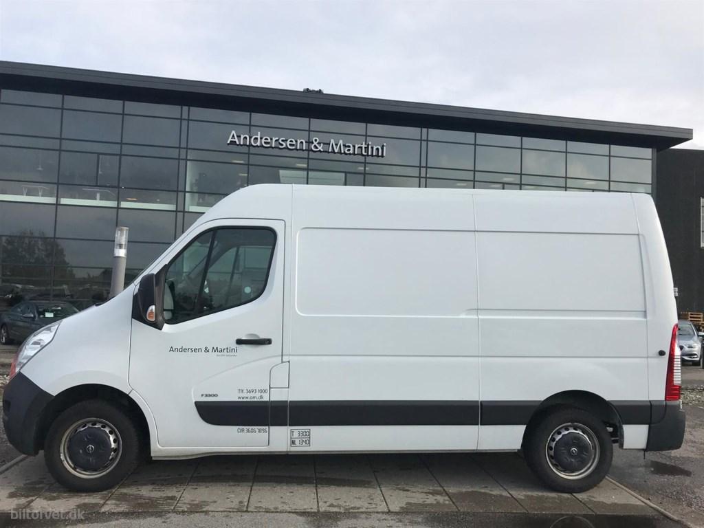 Opel Movano 3300 L2H2 2,3 CDTI DPF 125HK Van 6g 2014
