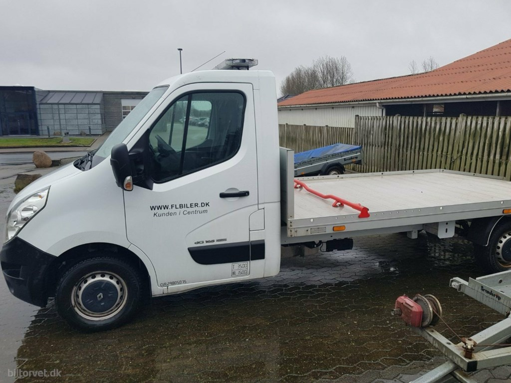 Renault Master III T33 2,3 dCi 165 L3 Chassis 2016