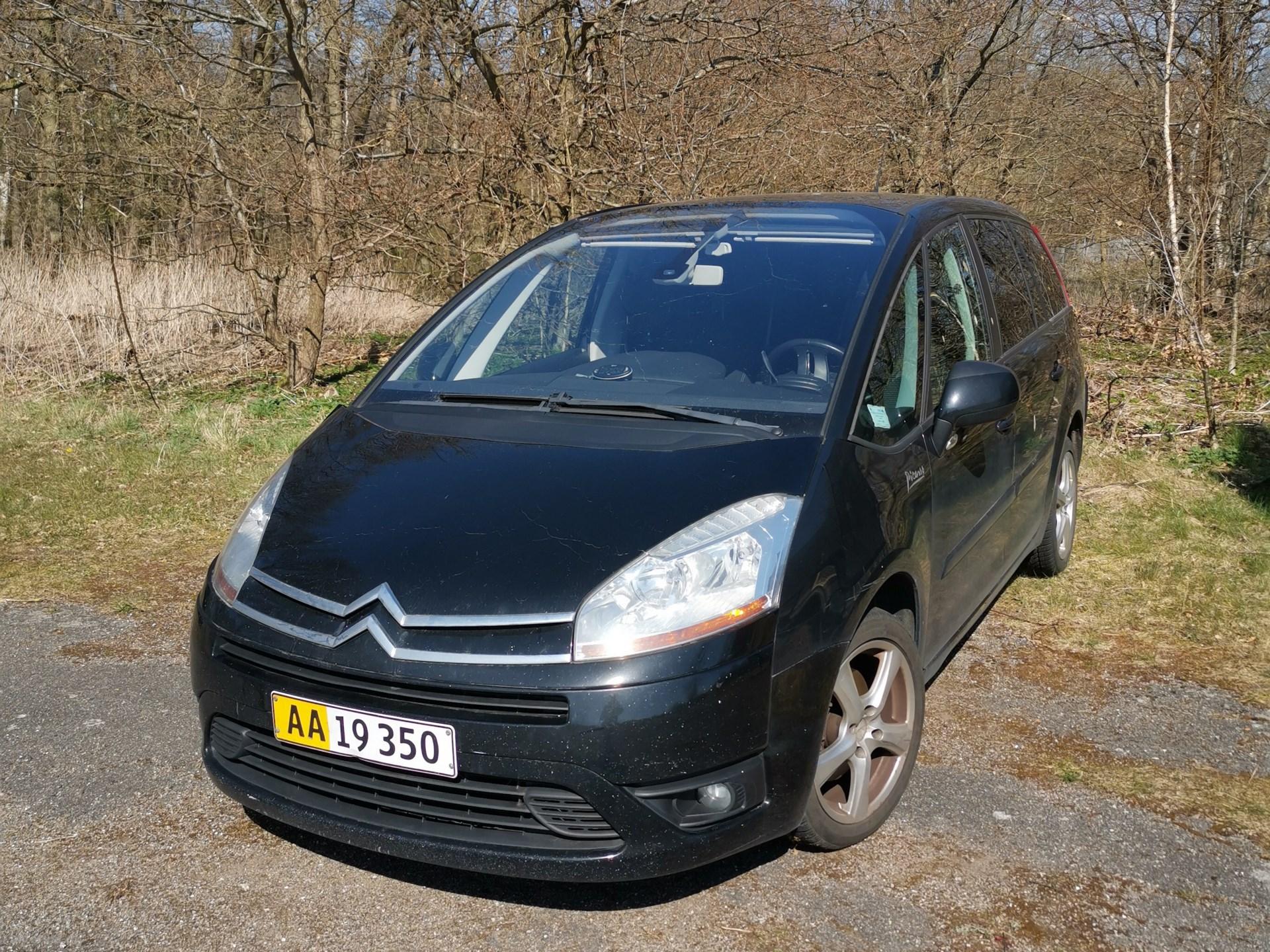 Citroën C4 Picasso 2,0 HDI VTR E6G 138HK Van 6g Aut. 2007