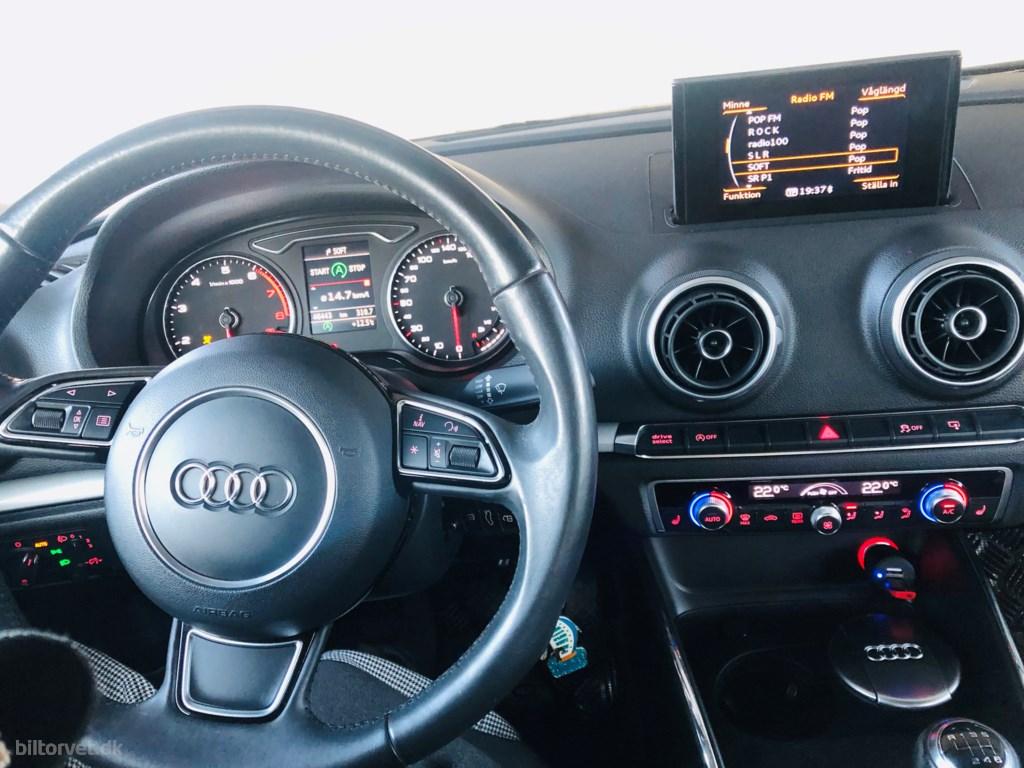 Audi A3 1,4 TFSI Attraction 150HK 6g 2015
