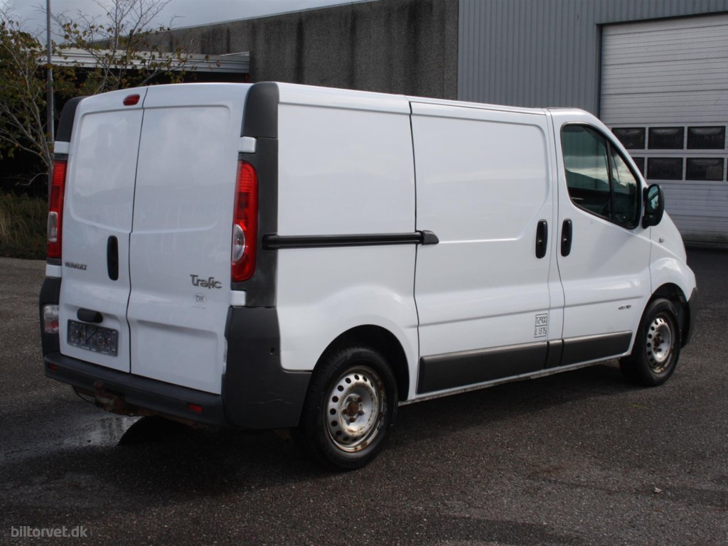 Renault TRAFIC, 2,0 DCI 115 2010
