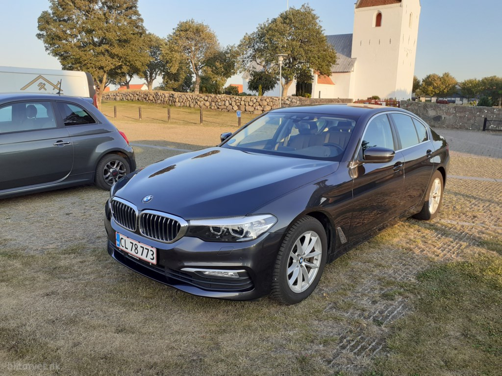 BMW 520d 2,0 EfficientDyn. Steptronic 190HK 8g Aut. 2018