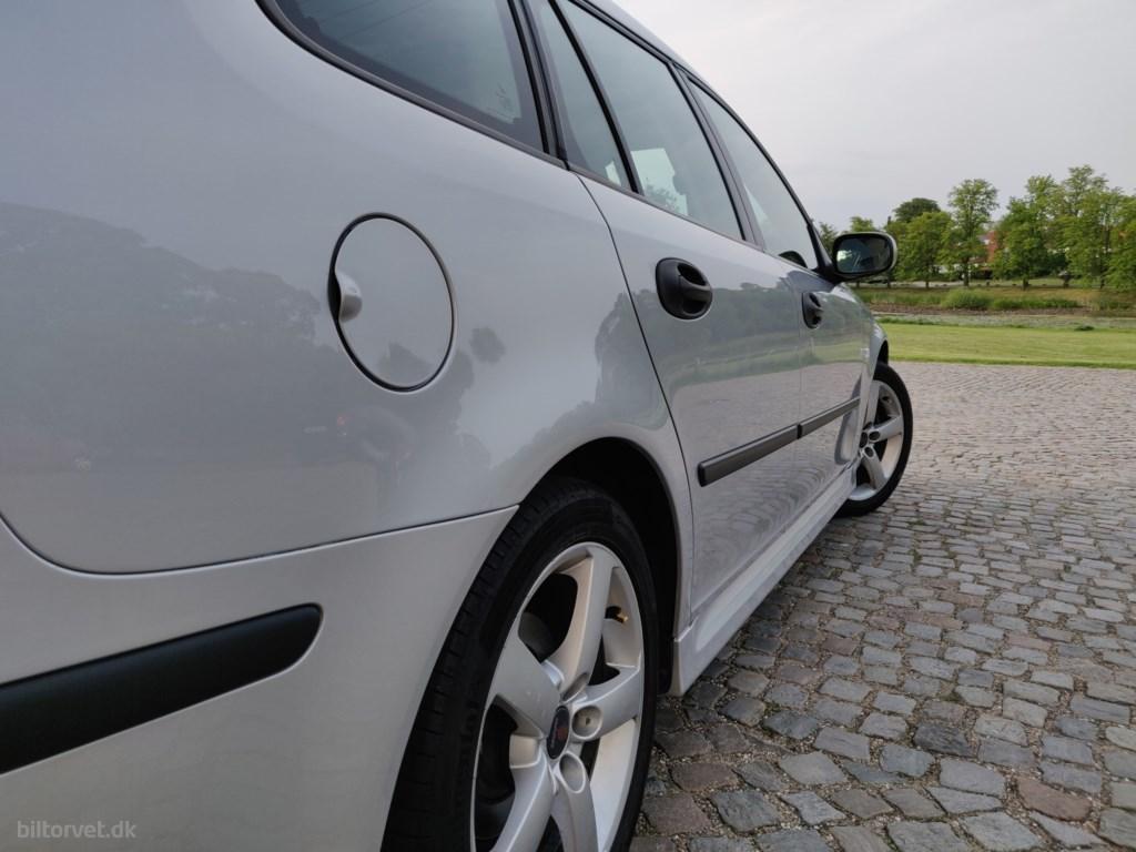 Saab 9-3 Sports Combi 2,0 T Linear Hirsch 195HK Stc 6g 2007