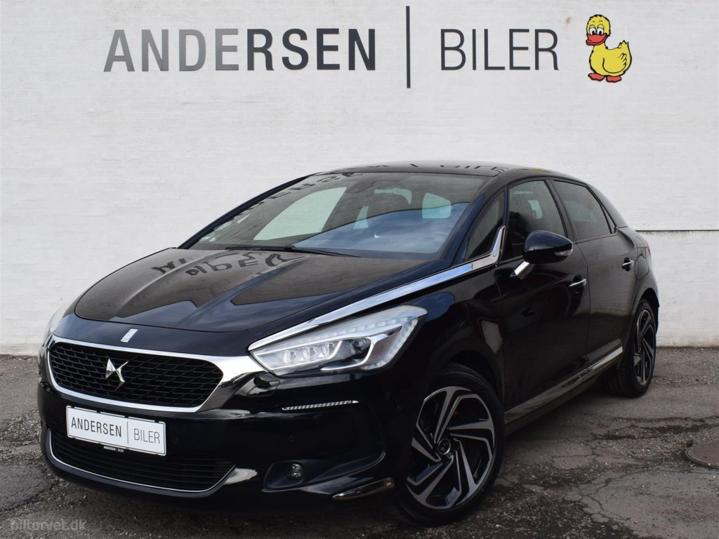 DS DS5 2,0 Blue HDi Style EAT6 start/stop 180HK Stc 6g Aut. 2018