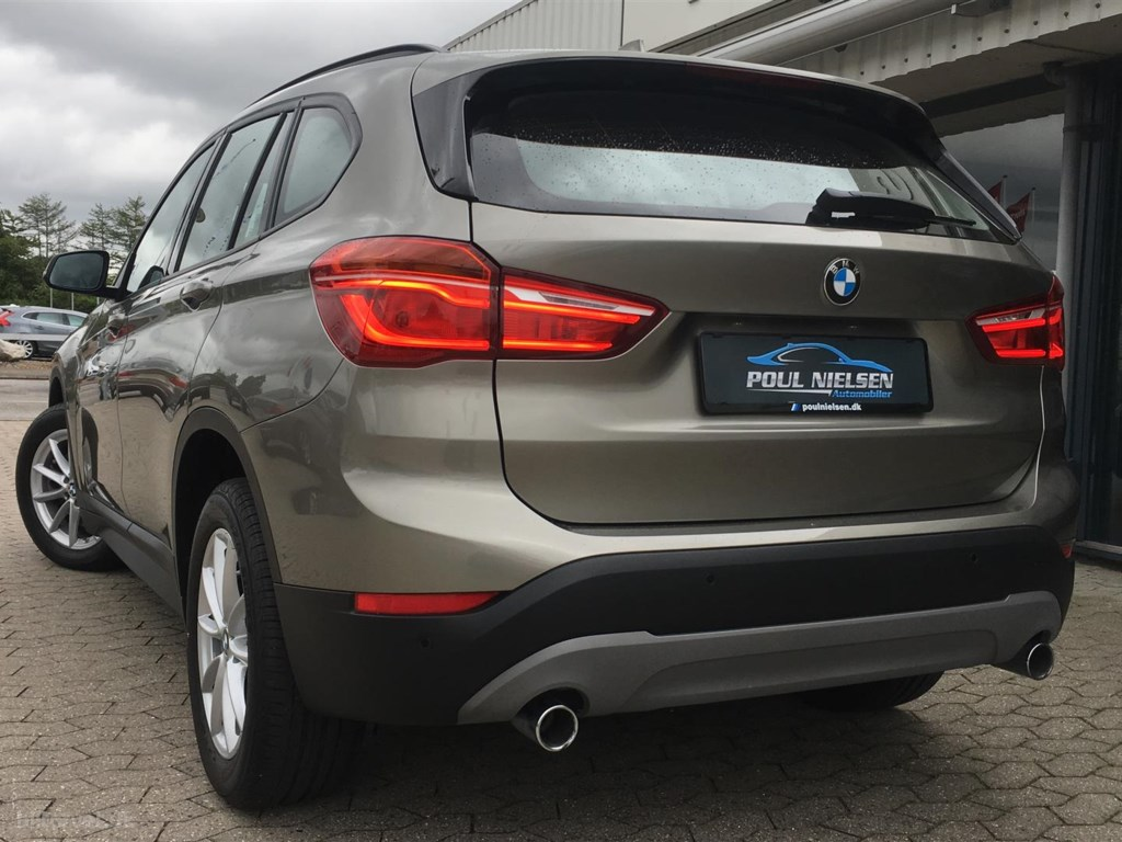 BMW X1 20D 2,0 sDrive20d aut Advantage 190HK 5d 2017