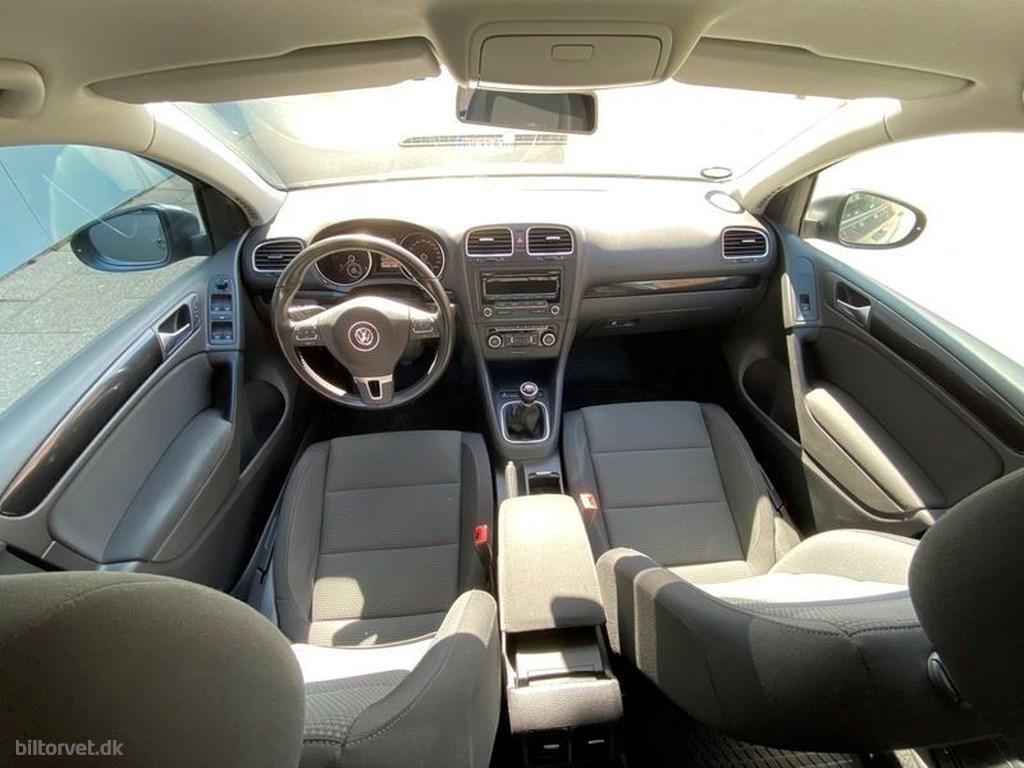 VW Golf 1,6 TDI 105HK 3d 2012