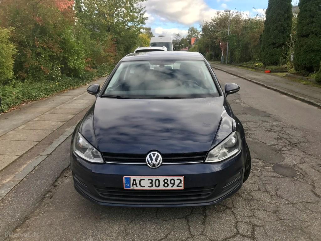 VW Golf 1,6 TDI BMT Comfortline DSG 105HK 3d 7g Aut. 2013