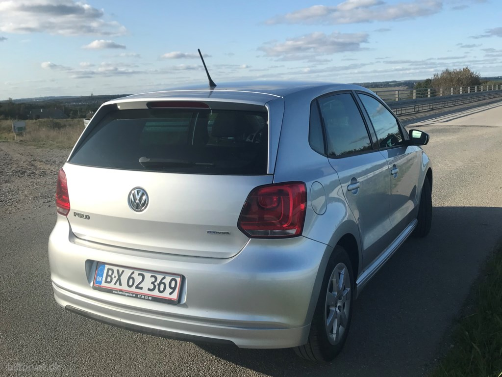 VW Polo 1,2 blueMotion TDI 29,4 75HK 3d 2012