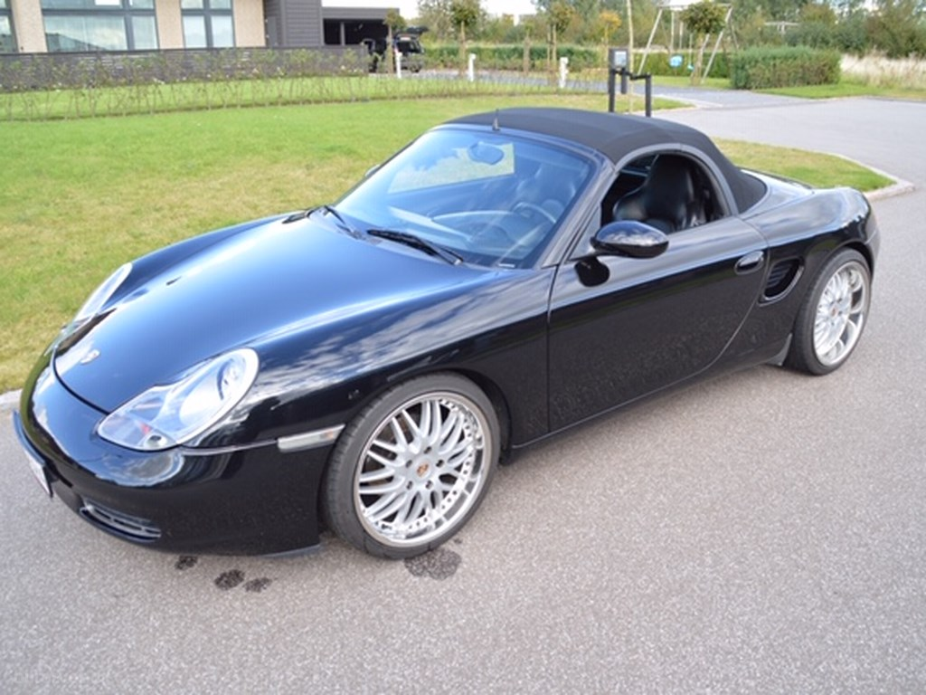 Porsche Boxster 2,5 204HK Cabr. 1997