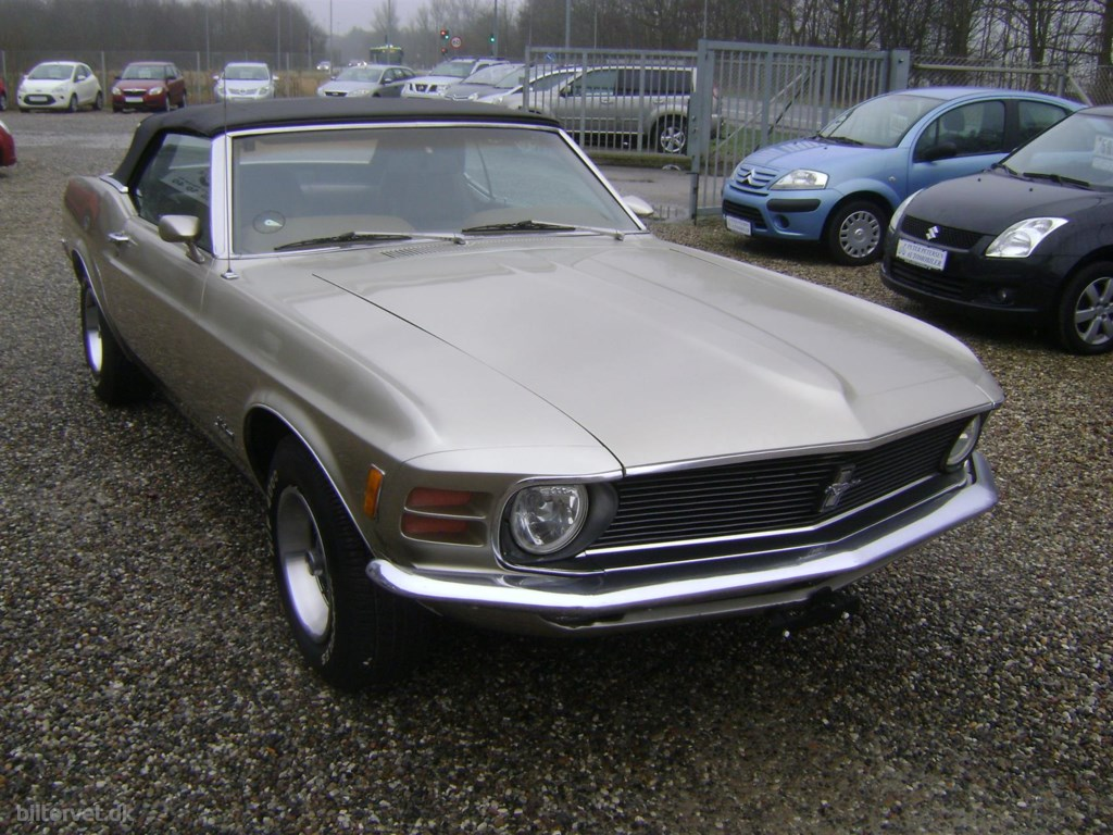 Ford Mustang 5,0 313HK Cabr. Aut. 1970