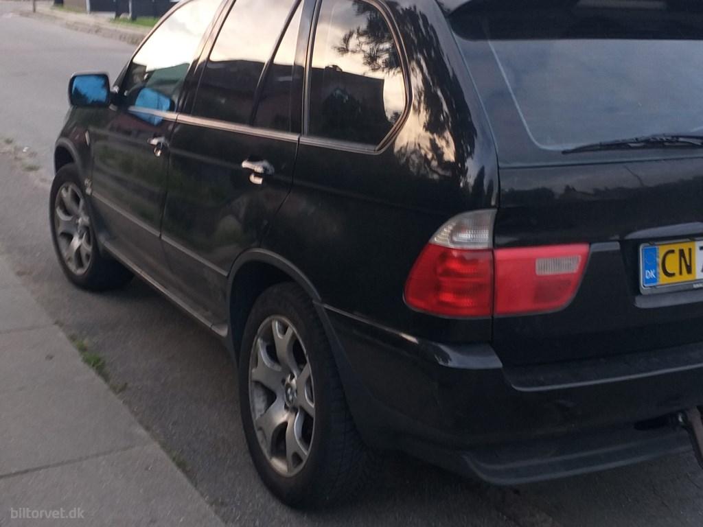 BMW X5 d 3,0 D 4x4 184HK Van Aut. 2003