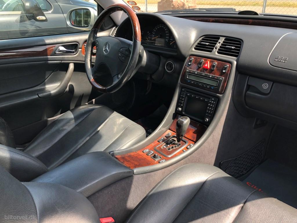 Mercedes-Benz CLK 430 4,3 279HK 2d Aut. 2001