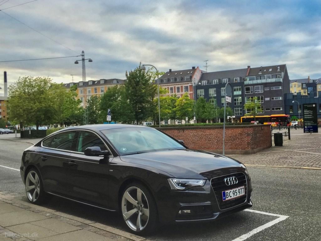 Audi A5 Sportback 1,8 TFSI Multitr. 144HK 5d 8g Trinl. Gear 2016