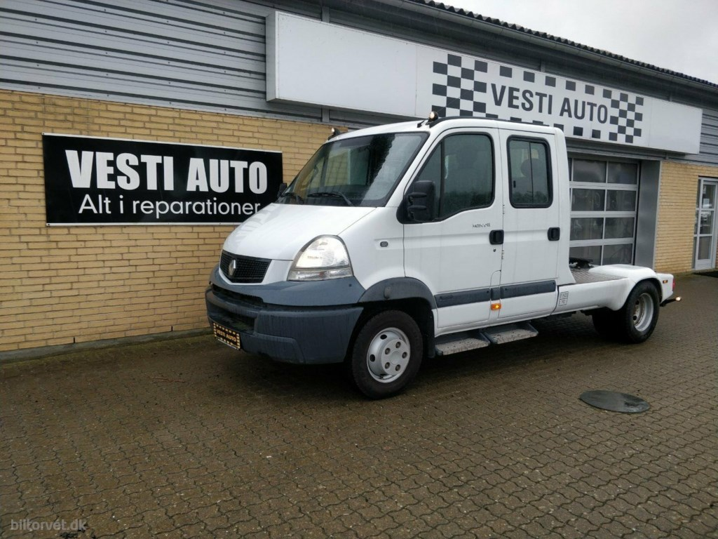 Renault Mascot 3,0 dCi 156 Chassis Db.Cab 150/35 2009