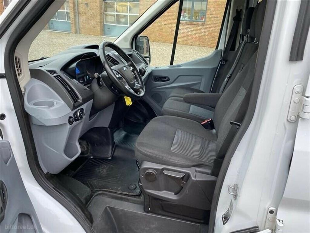 Ford Transit 470 L4 Chassis 2,2 TDCi 155 Mandskabsvogn 2017