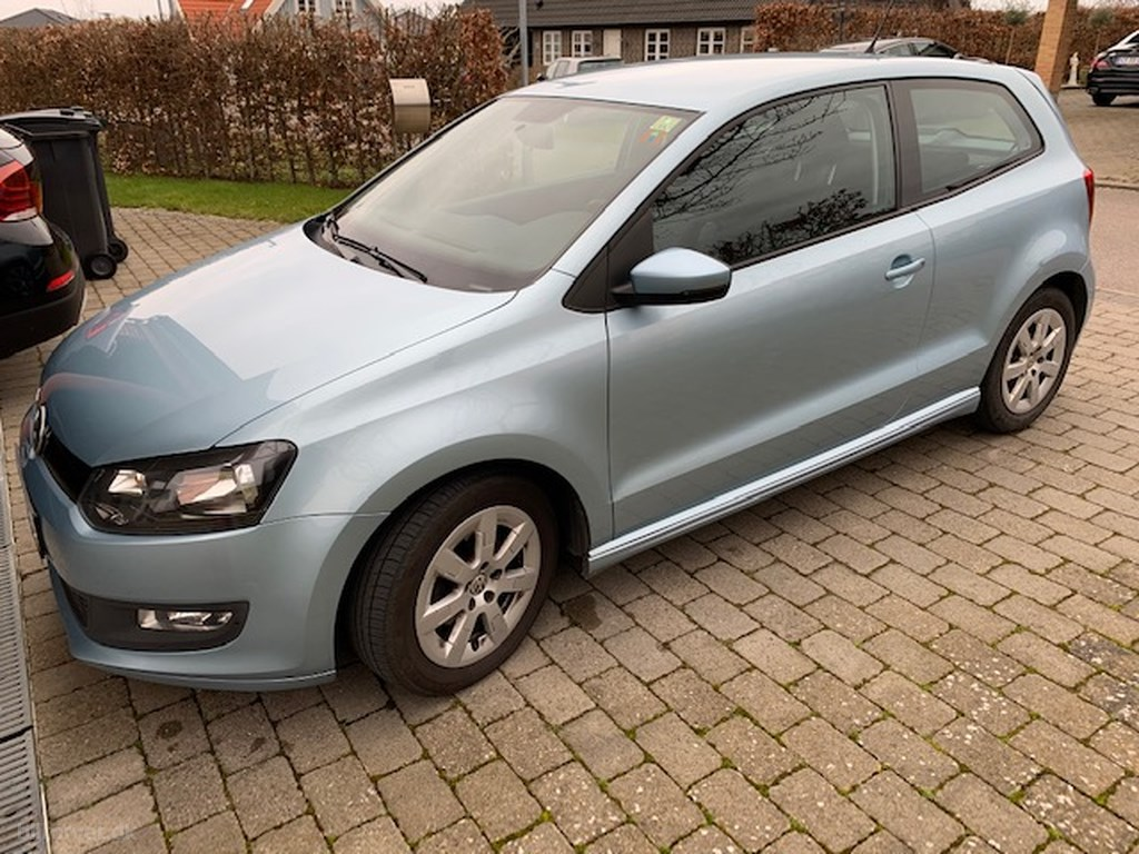 VW Polo 1,2 blueMotion TDI 30,3 75HK 3d 2010