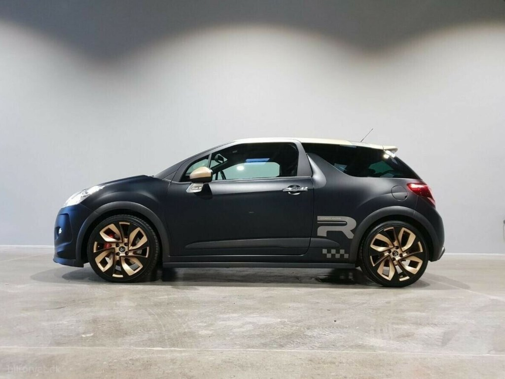 Citroën DS3 1,6 THP 207 Racing Gold Edition 2014