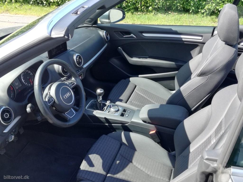 Audi A3 1,4 TFSI Ambition 125HK Cabr. 2016
