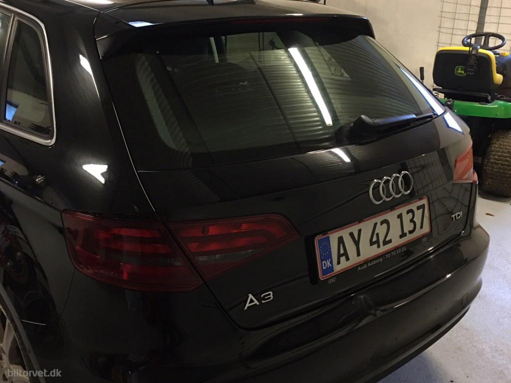 Audi A3 Sportback 1,6 TDI Ambition 110HK 5d 6g 2015