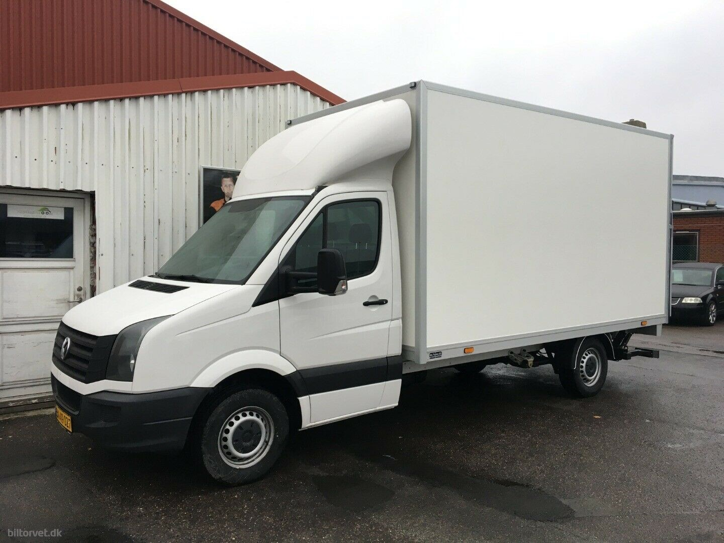 VW Crafter 2,0 TDi 163 Alukasse m/lift L 2017