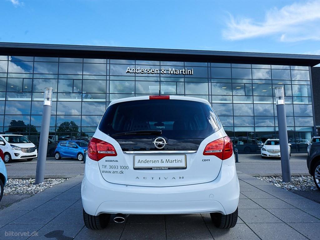 Opel Meriva 1,3 CDTI 75HK Van 2014