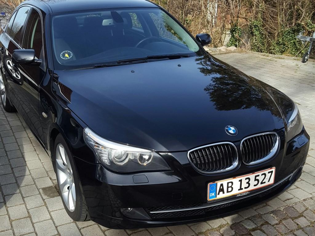 BMW 525d 3,0 D 197HK 6g 2008