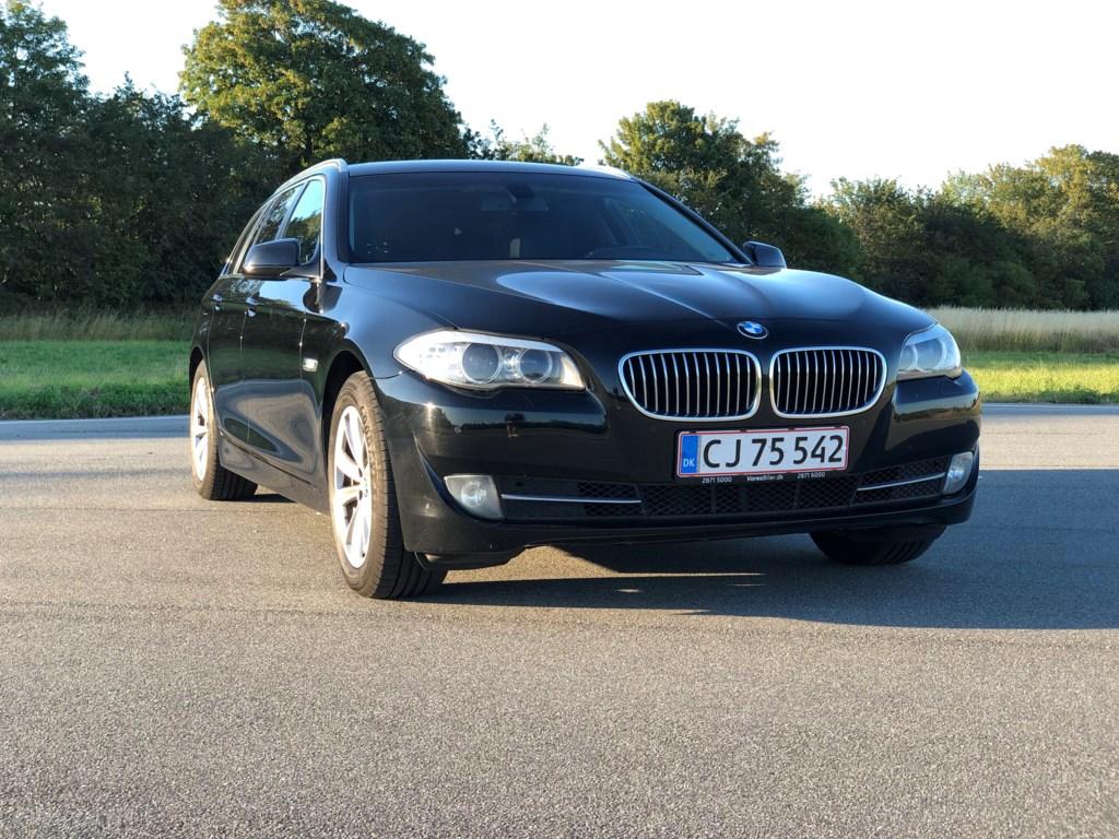 BMW 520d 2,0 D 184HK 8g Aut. 2012