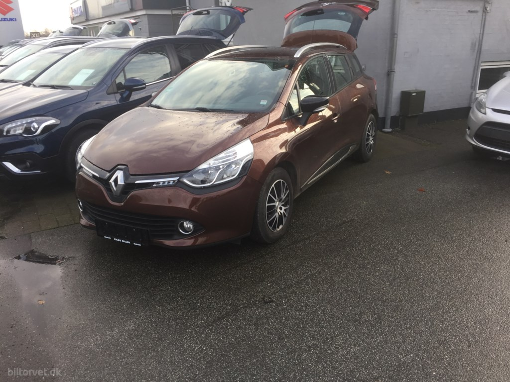Renault Clio 1,5 DCI Authentique 75HK 5d 2014
