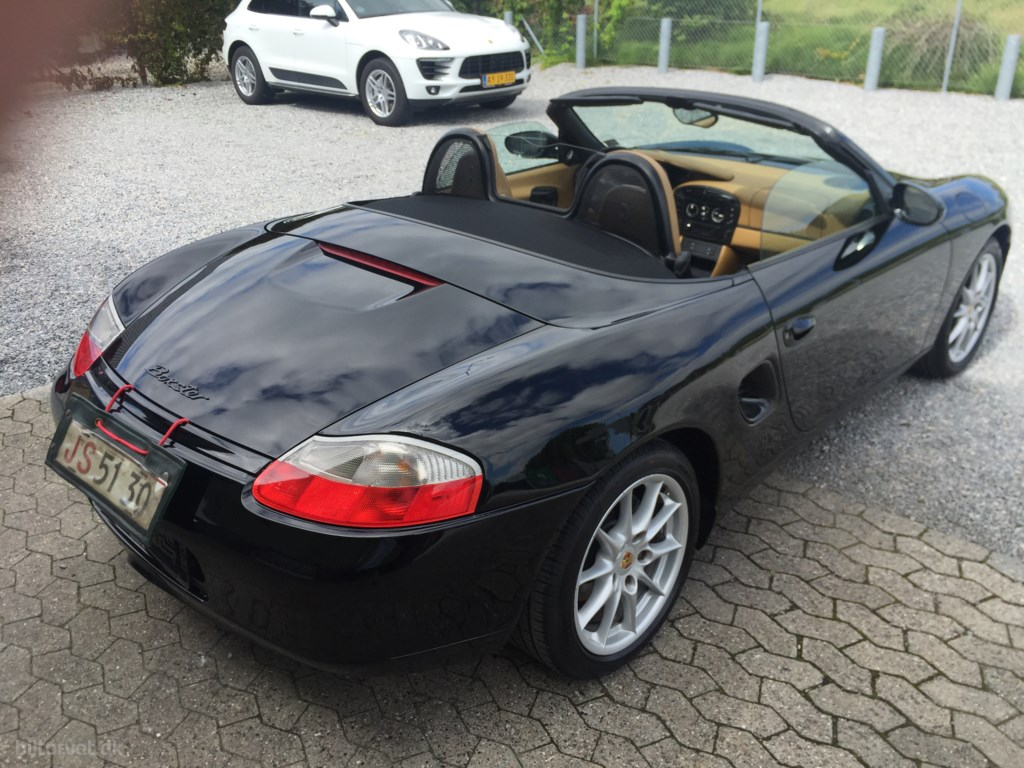 Porsche Boxster 2,5 204HK Cabr. 1998