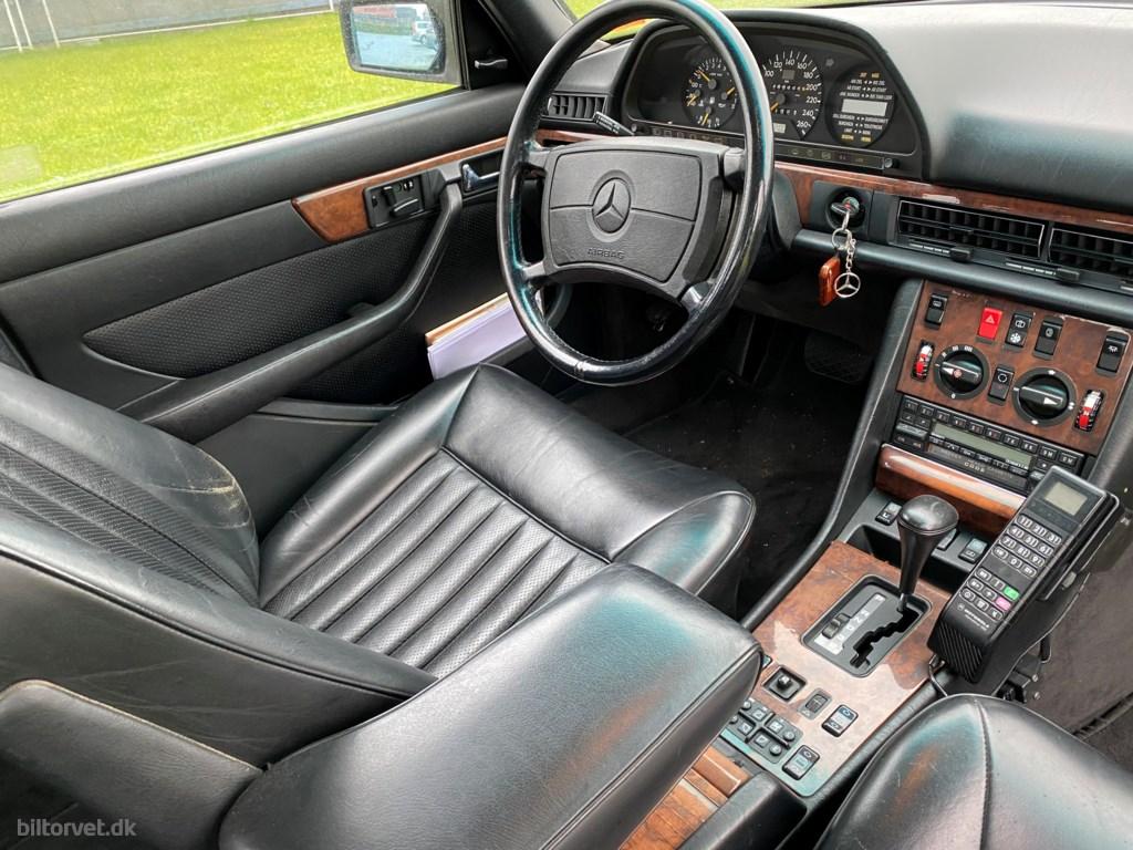 Mercedes-Benz 560SEL 5,5 Kat. 279HK Aut. 1989