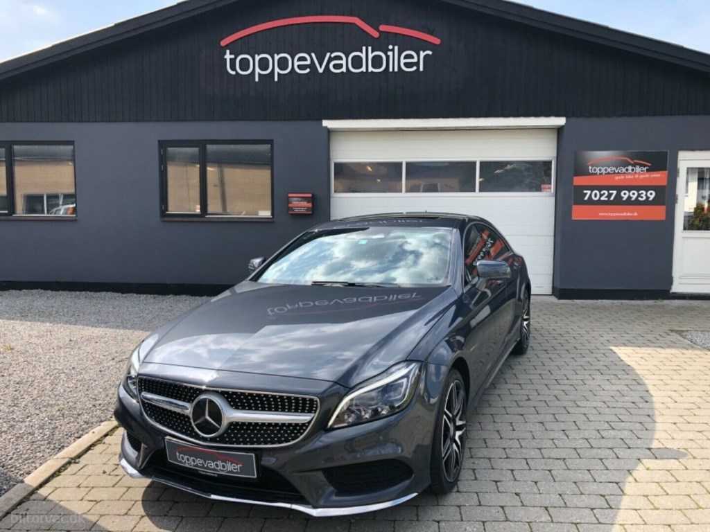 Mercedes-Benz CLS500 4,7 aut. 4-M BE 2014