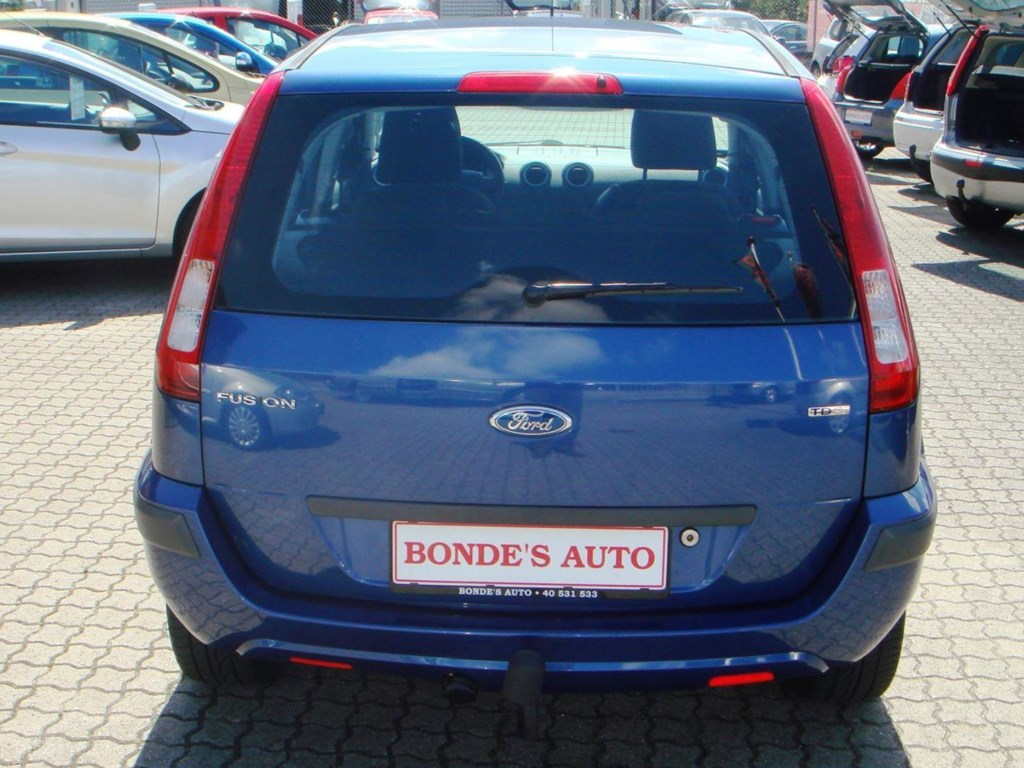 Ford Fusion 1,4 TDCI 68HK 5d 2008